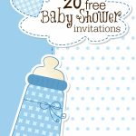 Baby Shower Template Invitation   Kleo.bergdorfbib.co | Free Printable Baby Shower Cards Templates
