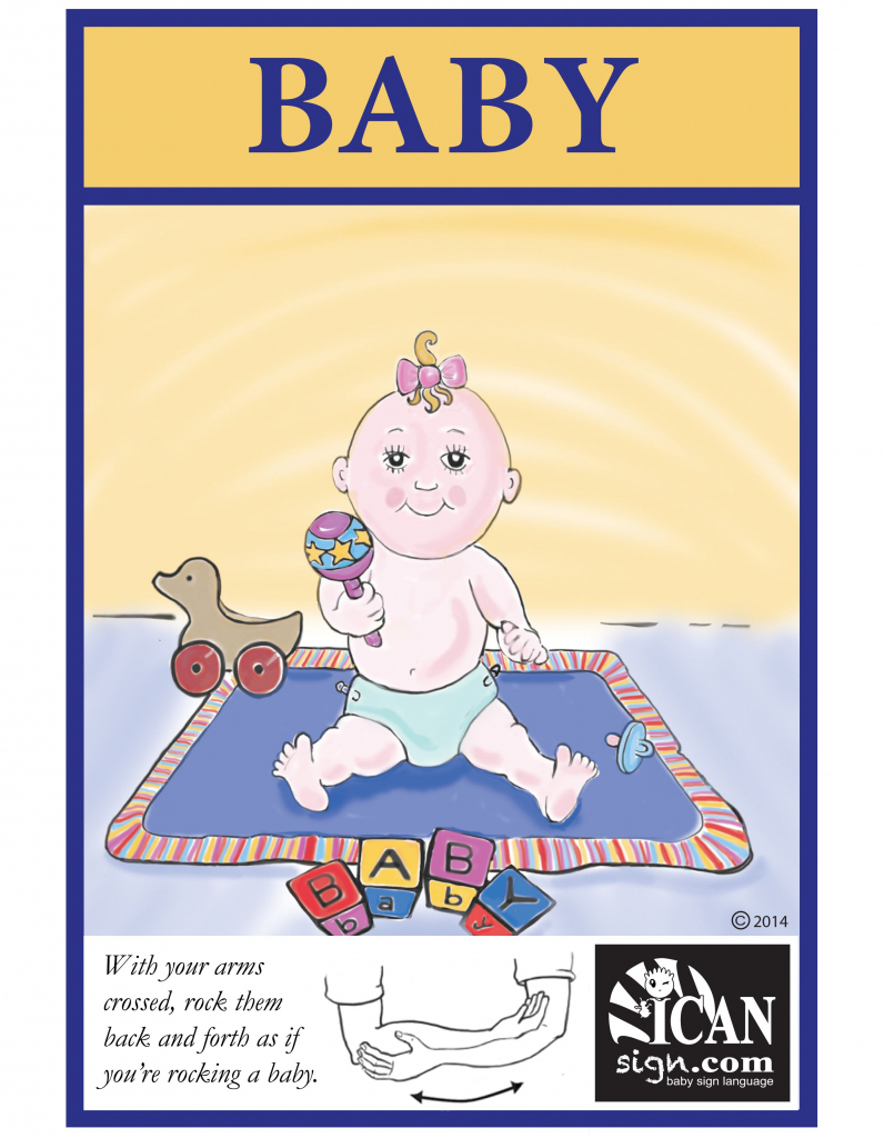 Baby Sign Language: Baby Flashcard | Sign Language Flash Cards | Baby Sign Language Flash Cards Printable