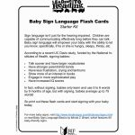 Baby Sign Language Flash Cards   Reading Is Fundamental | Printable Sign Language Flash Cards