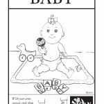 Baby Sign Language Flashcard: Baby – Free Printable Asl Flashcard | Printable Sign Language Flash Cards