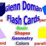 Babyeinstein Glenn Doman Flash Cards. Basic Shapes, Basic Geometry | Glenn Doman Flash Cards Printable