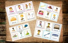 Printable Routine Cards For Toddlers