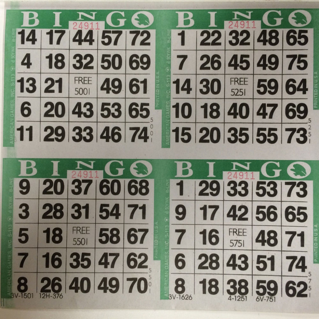 Best Photos Of Bingo Cards 2 Per Page - Bingo Cards 4 Per Page | Printable Bingo Cards 2 Per Page