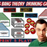 Big Bang Theory Drinking Game   Print & Play! | Bang Card Game Printable