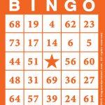 Bingo Card Template Free Printable   Bingocardprintout | Printable Bingo Cards 4 Per Page