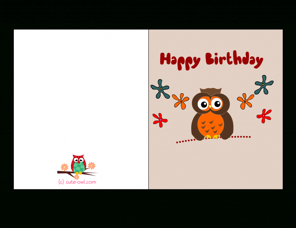 Birthday Card For Printable - Kleo.bergdorfbib.co | Free Printable Bday Cards