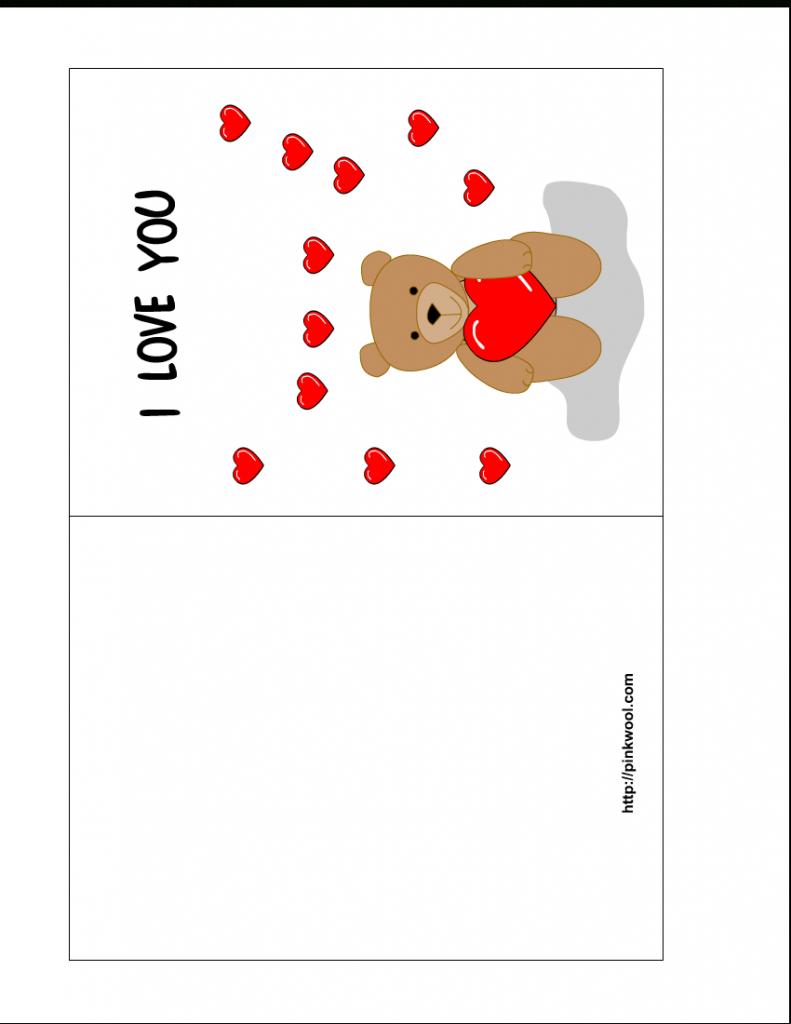Birthday Card Template Printable - Kleo.bergdorfbib.co | Printable Greeting Card Template