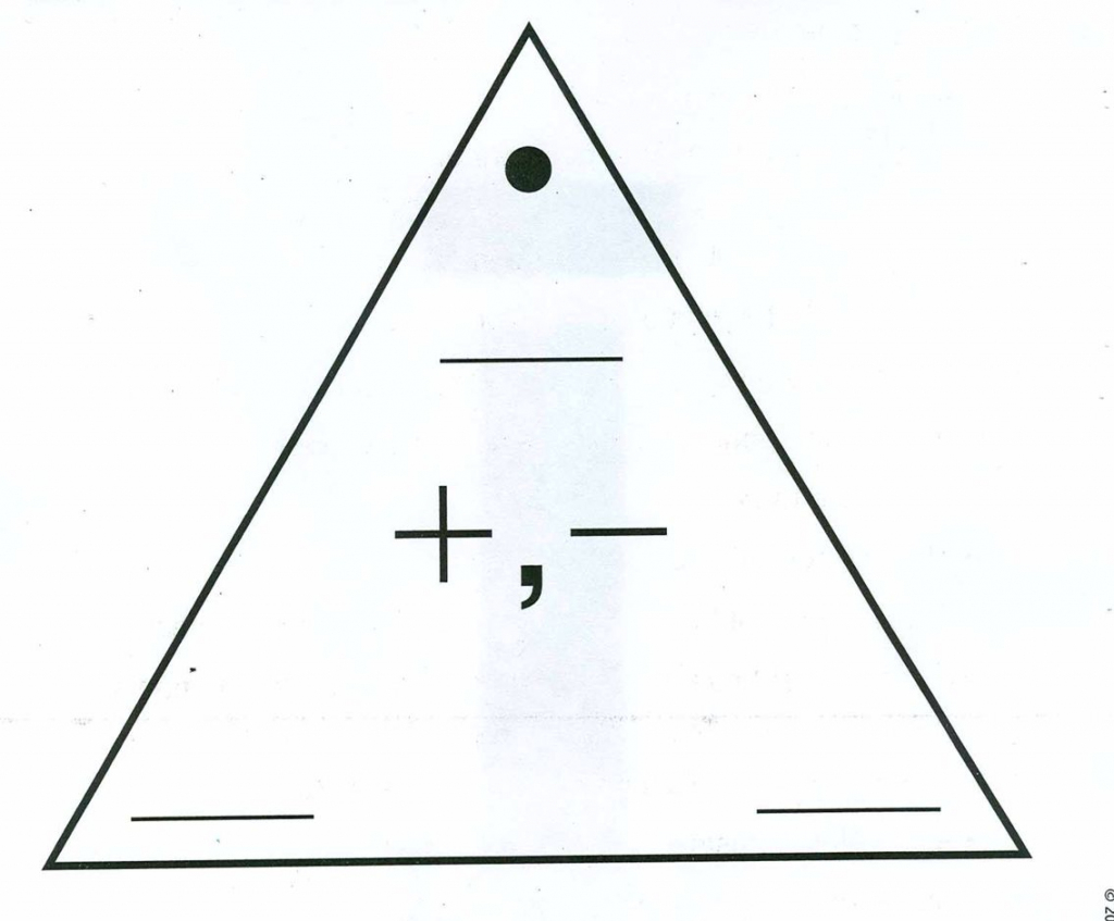 Blank Addition/subtraction Fact Triangle | Computation | Addition | Triangle Flash Cards Addition And Subtraction Printable
