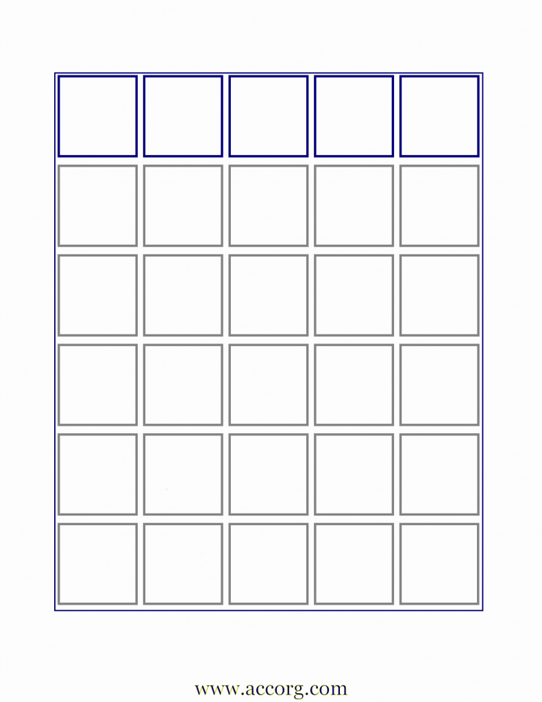 Blank Bingo Card Template | Cranfordchronicles | Free Printable Bingo Cards Random Numbers