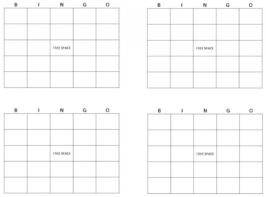 Blank Bingo Cards | Get Blank Bingo Cards Here | Free Printable Blank Bingo Cards