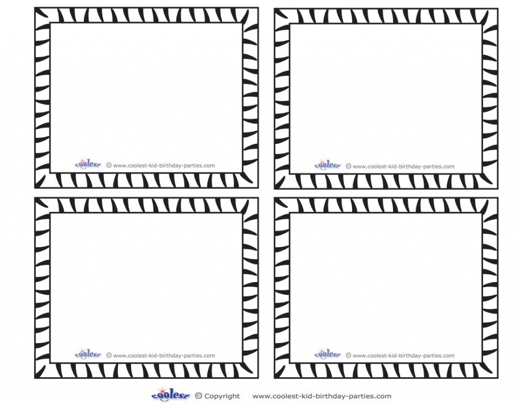 Blank Flash Card Templates | Printable Flash Cards | Pdf Format | Printable Blank Flash Cards Template
