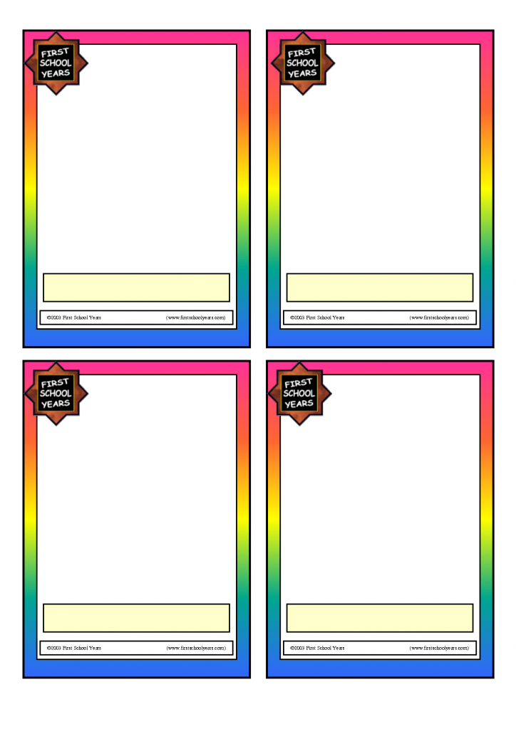 Blank Flash Cards Template - Kleo.bergdorfbib.co | Free Printable Flash Card Maker Online