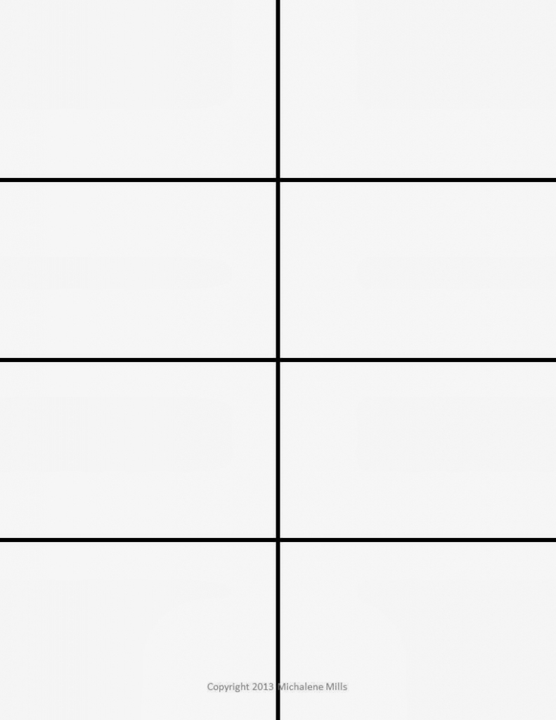 Blank Flash Cards Template - Kleo.bergdorfbib.co   Printable Blank Flash Cards Template