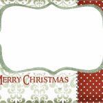 Blank Printable Christmas Cards – Halloween & Holidays Wizard   To And From Christmas Cards Printable