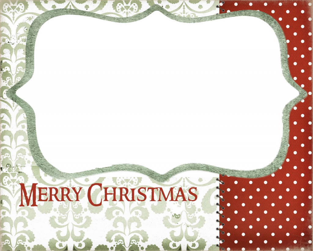 Blank Printable Christmas Cards – Halloween & Holidays Wizard | To And From Christmas Cards Printable