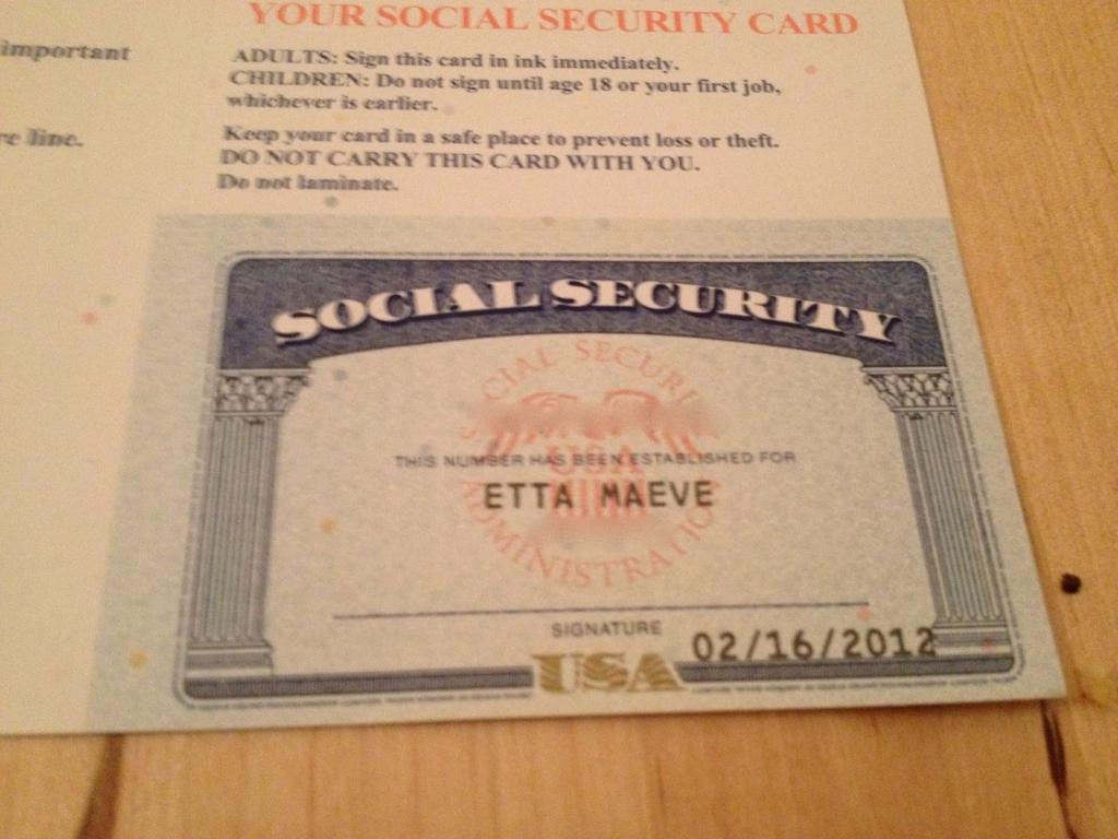 Blank Social Security Card Template - Canas.bergdorfbib.co | Printable Social Security Card Template