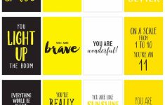 Printable Compliment Cards For Students