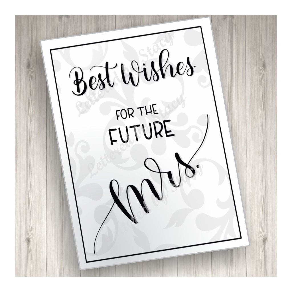 Bridal Shower Greeting Cards Printables - Kleo.bergdorfbib.co | Free Printable Wedding Shower Greeting Cards