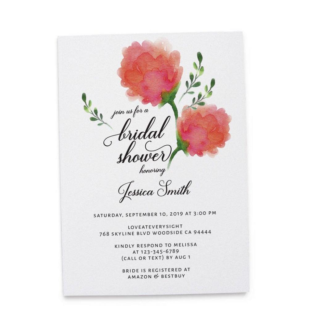 Bridal Shower Invitation Cards, Bridal Shower Cards, Bridal Shower | Printable Bridal Shower Card