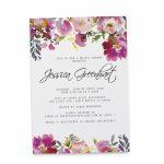 Bridal Shower Invitation Cards, Bridal Shower Cards With Bright | Printable Bridal Shower Card