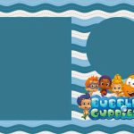 Bubble Guppies Free Printable Invitations. | Oh My Fiesta! In English | Bubble Guppies Printable Birthday Cards