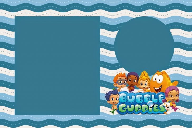 Bubble Guppies Printable Birthday Cards