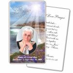 Business Card Psd Template Funeral Prayer Card Template Free Frd28 | Free Printable Funeral Prayer Card Template