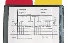 Buy Champion Heavy Duty Sports Soccer Referee Red Yellow Wallet | Soccer Referee Cards Printable