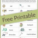 Camping Charades Game For Kids   Free Printable | Camping | Free | Free Printable Charades Cards