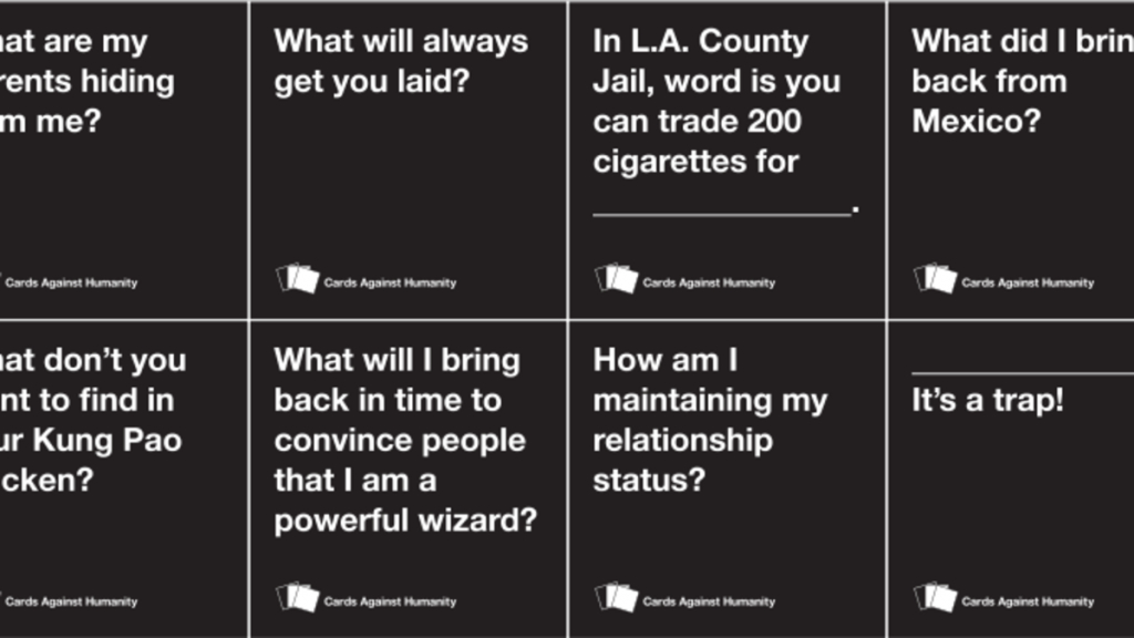 Cards Against Humanity's Never-Ending Fight Against Copycats | Cards Against Humanity Printable