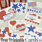 Cards To Support Our Troops   Free Printable | For Military Families | Military Thank You Cards Printable