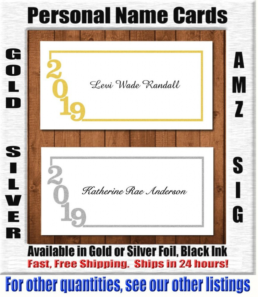 Cheap Name Cards For Graduation Announcements How To Make Photo | Printable Name Cards For Graduation Announcements