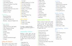 Checklist Template Samples Free Gift Card For Baby Registry Ideas | Free Printable Baby Registry Cards