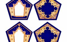 Harry Potter Chocolate Frog Cards Printable