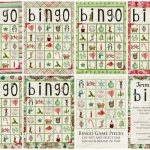Christmas Bingo Game   Simply Fresh Designs | Free Printable Christmas Bingo Cards