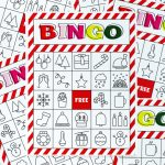 Christmas Bingo Printable For Large Groups & Small • A Subtle Revelry | Free Printable Christmas Bingo Cards