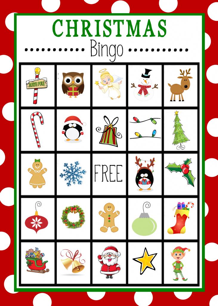 Christmas Bingo Printables – Happy Holidays! | Kid Christmas Bingo Card Printables