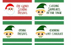 Free Printable Christmas Charades Cards