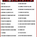 Christmas Charades Game And Free Printable Roundup!   A Girl And A | Free Printable Charades Cards