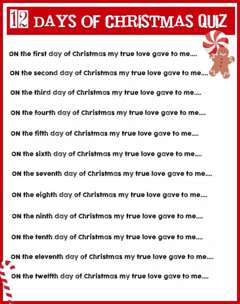 Christmas Charades Game And Free Printable Roundup! - A Girl And A | Free Printable Christmas Charades Cards
