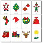 Christmas Flashcards   Free Printable Flashcards To Download   Speak | Printable Picture Cards For Kindergarten