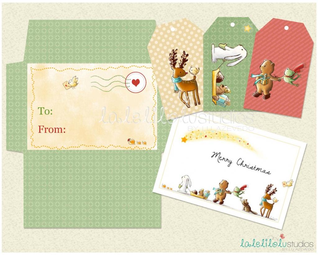 Christmas Gift Card Envelope Printable – +70.000 Christmas Tree | Gift Card Printable Envelope
