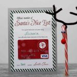Christmas Gift Cards   Personalized Visa Gift Cards | Giftcards | Printable Visa Gift Cards