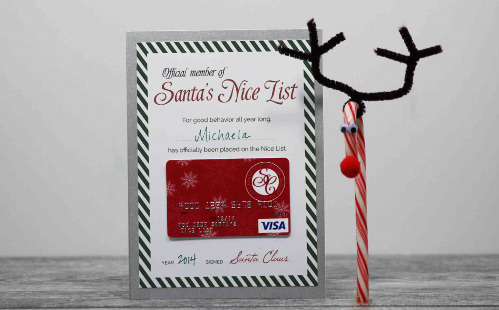 Christmas Gift Cards - Personalized Visa Gift Cards | Giftcards | Printable Visa Gift Cards