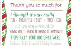 Printable Thank You Cards For Teachers