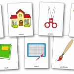 Classroom Objects Flashcards   Free Printable Flashcards   Speak And | Free Printable Flash Cards