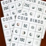 Coin Bingo Free Printable | Cub Scouts | Bingo, Learning Money | Money Bingo Printable Cards