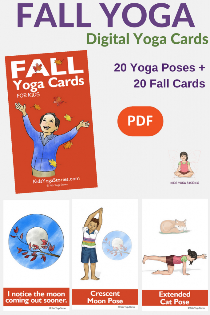 Collection Of Printable Yoga Cards For Kids - Movement In Your Classroom | Printable Yoga Cards For Kids