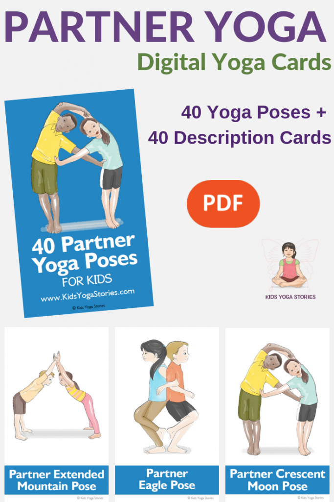 Collection Of Printable Yoga Cards For Kids - Movement In Your Classroom | Printable Yoga Flash Cards For Kids