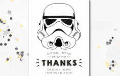 Star Wars Birthday Card Printable